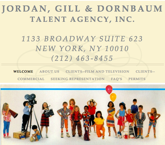 Jordan, Gill & Dornbaum Talent Agency