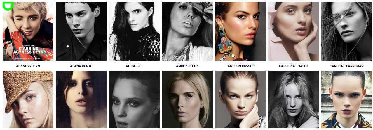 Modeling agencies in new york, companies that use social media the ...