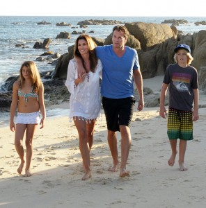 Cindy Crawford and Family