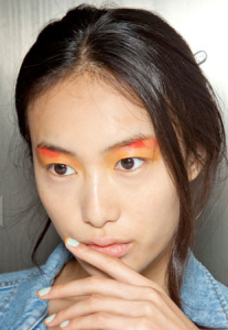 Two Tone Nails at Peter Som