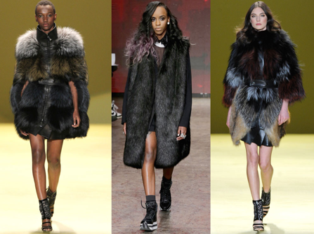 Fur in Fashion Week