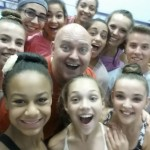 Thommie Retter and the Dance Mom kids