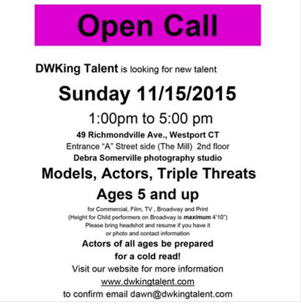 DWKing Open Call