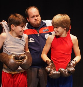Billy Elliot boxing-Jamie Mann