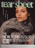 Editor's Call-Time: I Love New York; Tear Sheet magazine